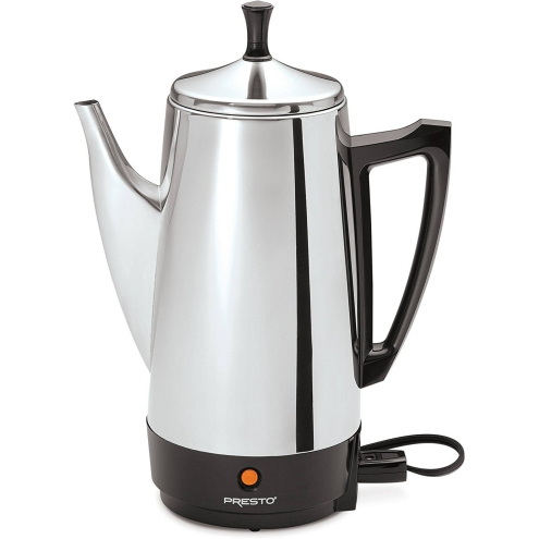 12-Cup stainless steel built Presto Coffee brewing machine