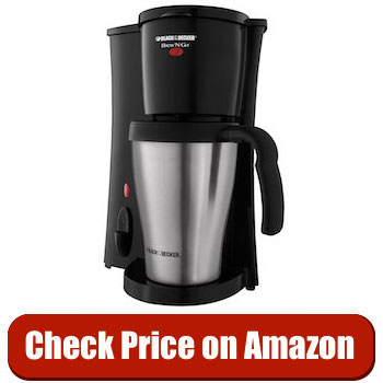 BLACK and DECKER DCM18S Personal Single Serve CoffeeMaker Reviews