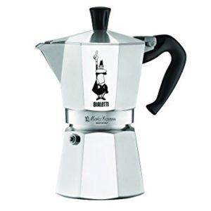Bialetti Moka Plastic Free Coffee Maker