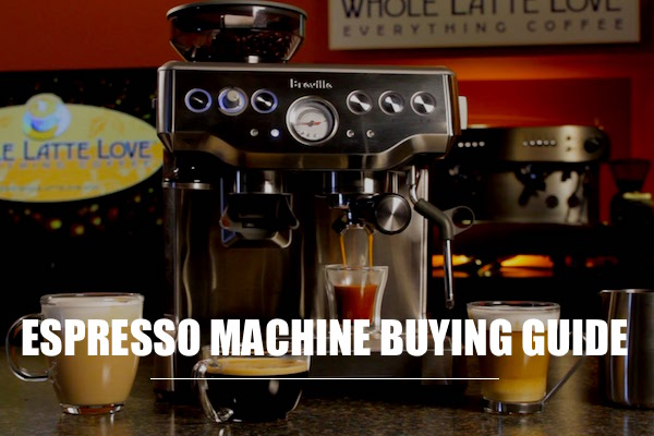 Considerations to Buy Espresso Machine