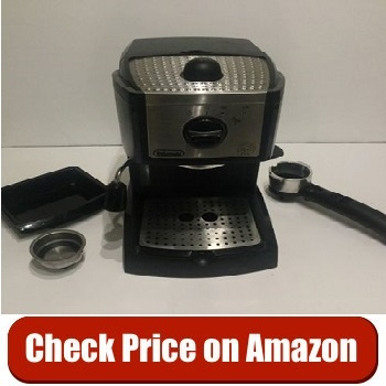 DeLonghi EC155 15 Bar Pump Coffee Maker