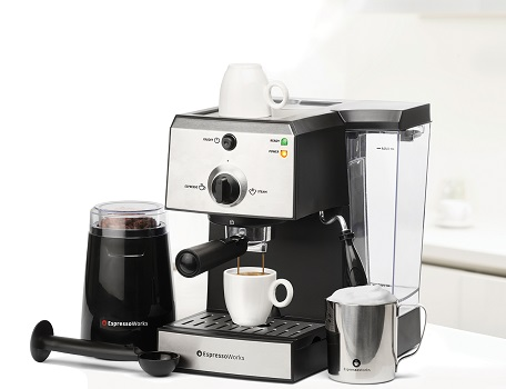 Espresso Works All in One Espresso Machine