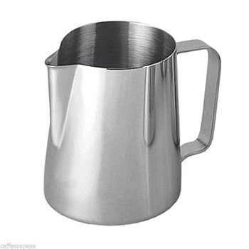 Frothing Pitcher as Espresso Machine Accessories