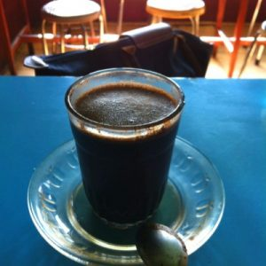 Kopi Tobruk is a coffee drink originating from Indonesia