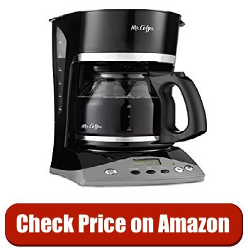 Mr. Coffee SKX23 12-Cup Programmable Coffee Maker under $50
