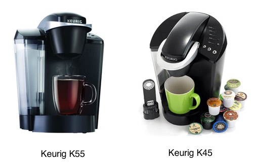 Keurig K55 Elite vs Keurig K45 Elite Keurig Model Comparison 2017