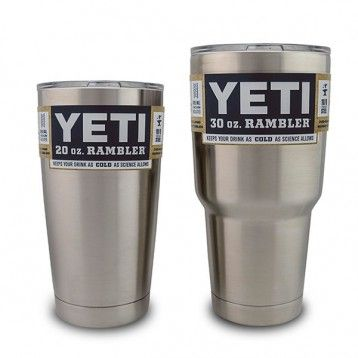 YETI Rambler Vacuum insulated Stainless Steel Travel Mug