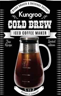 Low Acidic, Delicious Cold Brew Coffee