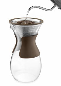 Osaka Pour Over Coffee Maker, 37 oz with Glass Carafe