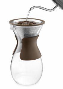 Osaka Pour Over Coffee Maker, 37 oz with Glass Carafe