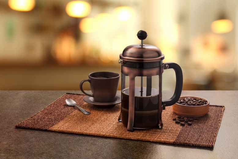 Steps To Make Coffee Using French Press Coffee Maker