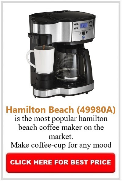 how to clean a hamilton beach coffee machine