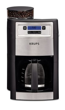Automatic Coffee Maker with grinder from krups