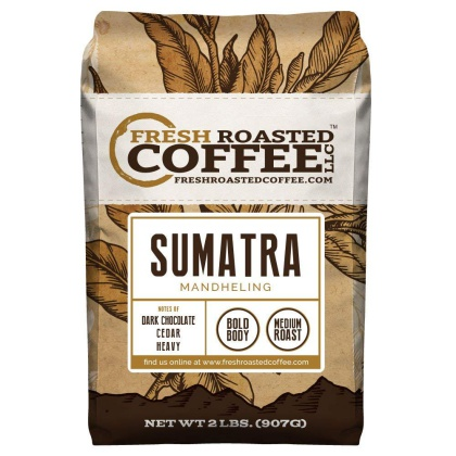 Sumatra Mandheling Coffee Whole Beans