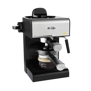 mr. coffee® steam espresso and cappuccino maker bvmc-ecm17