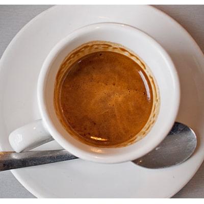 real espresso shot